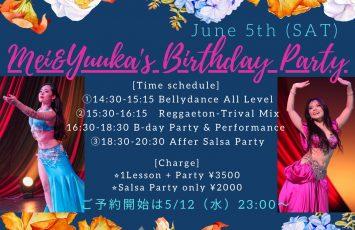 ♪Mei & Yuuka's Birthday Party♪
