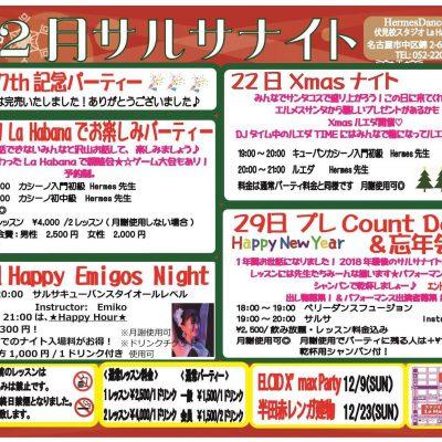 ★12月サルサナイト★
