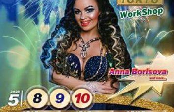 Anna Borisova先生のワークショップ情報解禁‼️