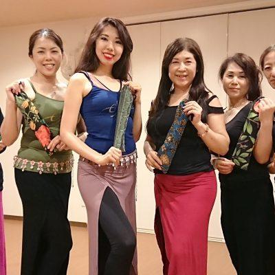 豊橋校ベリーダンス☆レッスン(^○^)