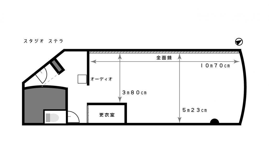 星ヶ丘校スタジオ